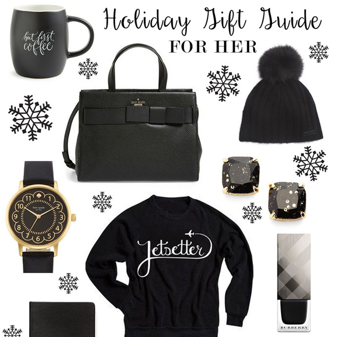 A BLACK AND WHITE GIFT GUIDE FOR HER