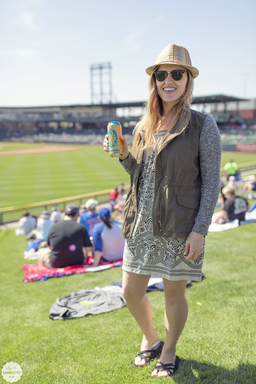 Cubs Spring Training - Mesa AZ - Lily The Wandering Gypsy