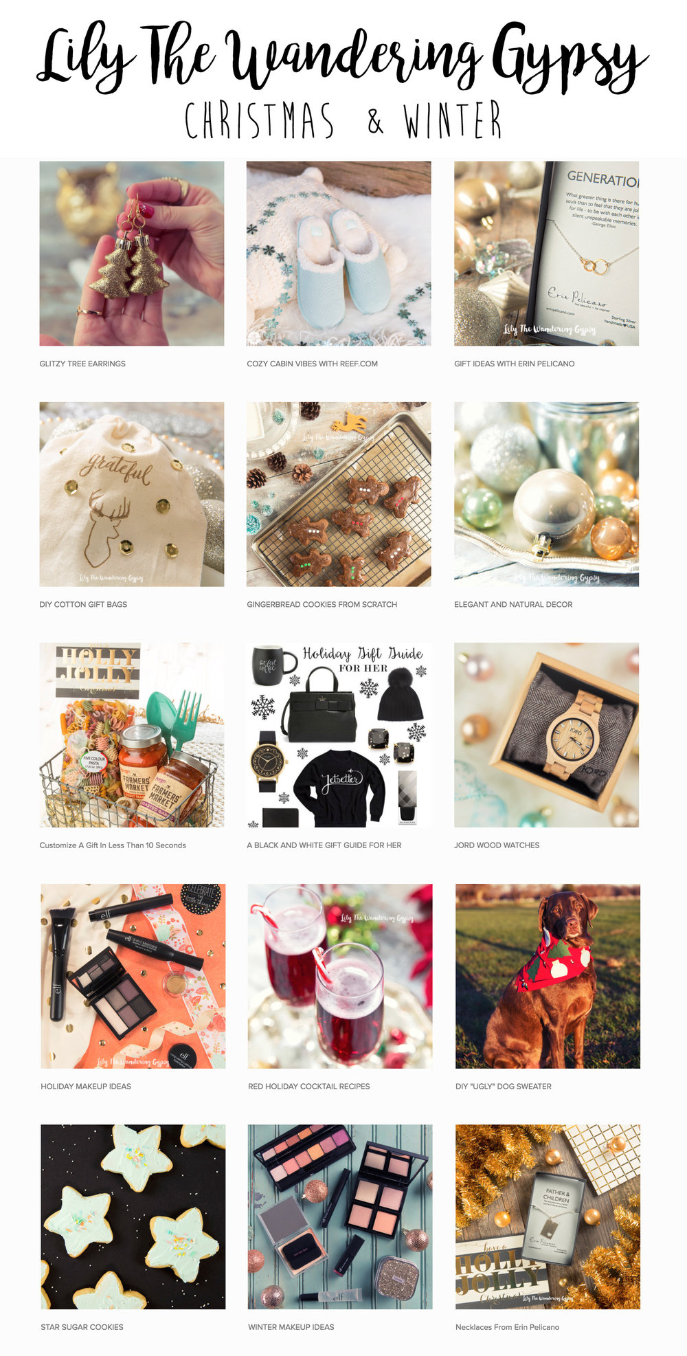 Christmas + Winter DIY Projects