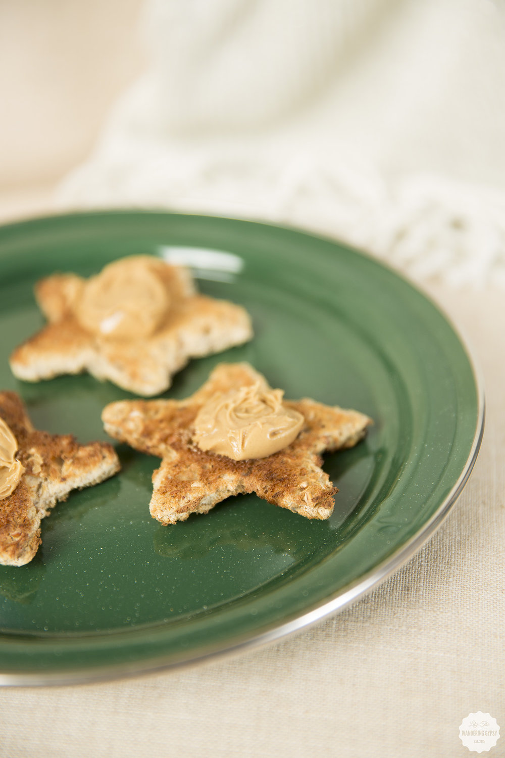 Star Toast + Peanut Butter