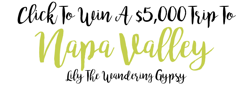 win a trip to Napa Valley!
