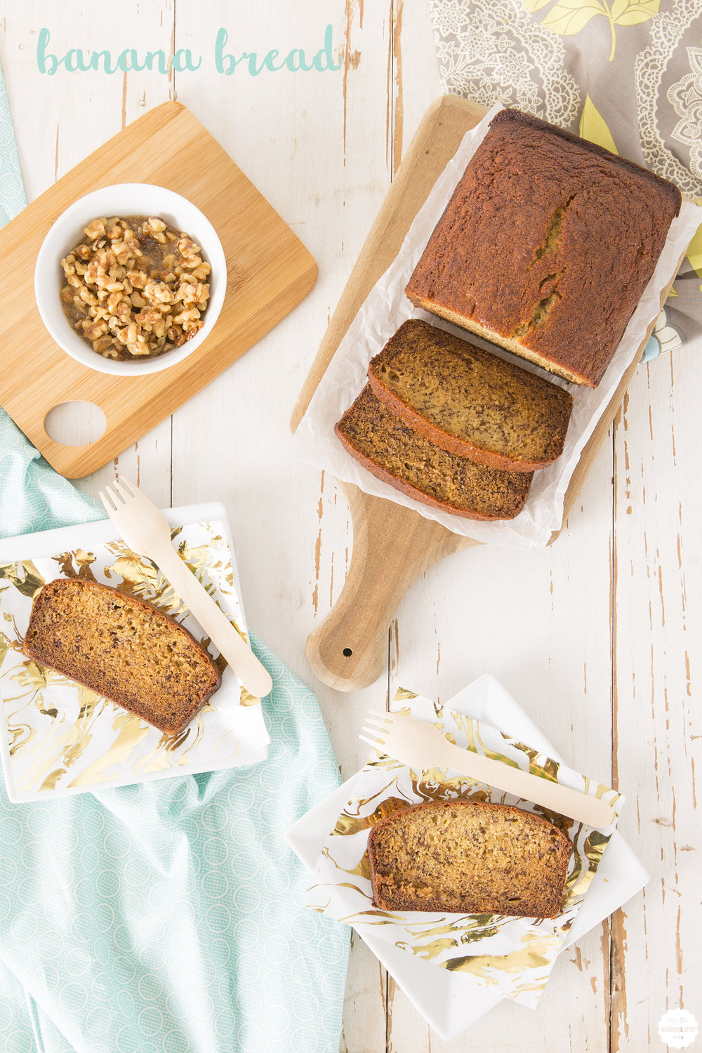 Banana Bread Recipe by Lily The Wandering Gypsy