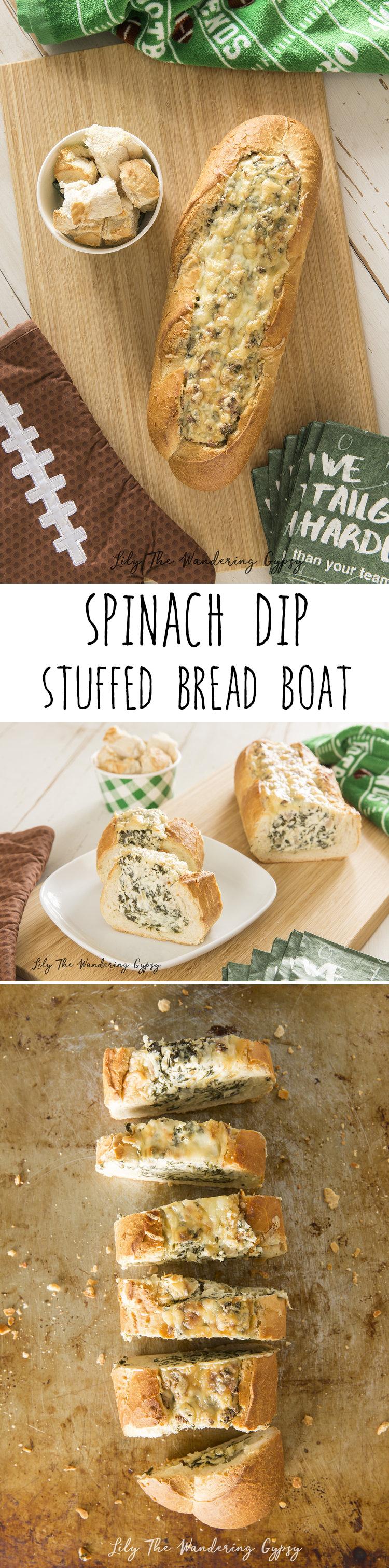 bread boat appetizer