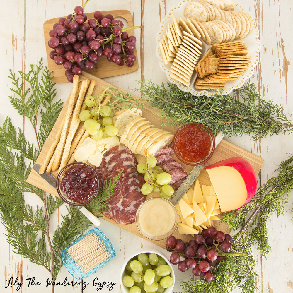 Tasty Cheese Board - Lily The Wandering Gypsy