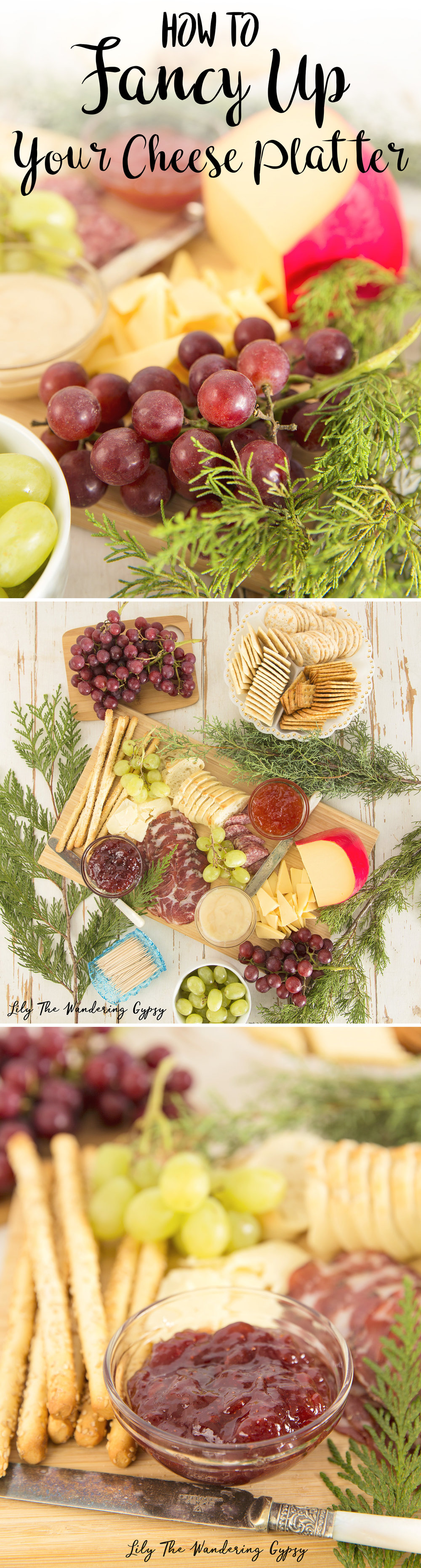 How To Fancy Up Your Cheese Platter
