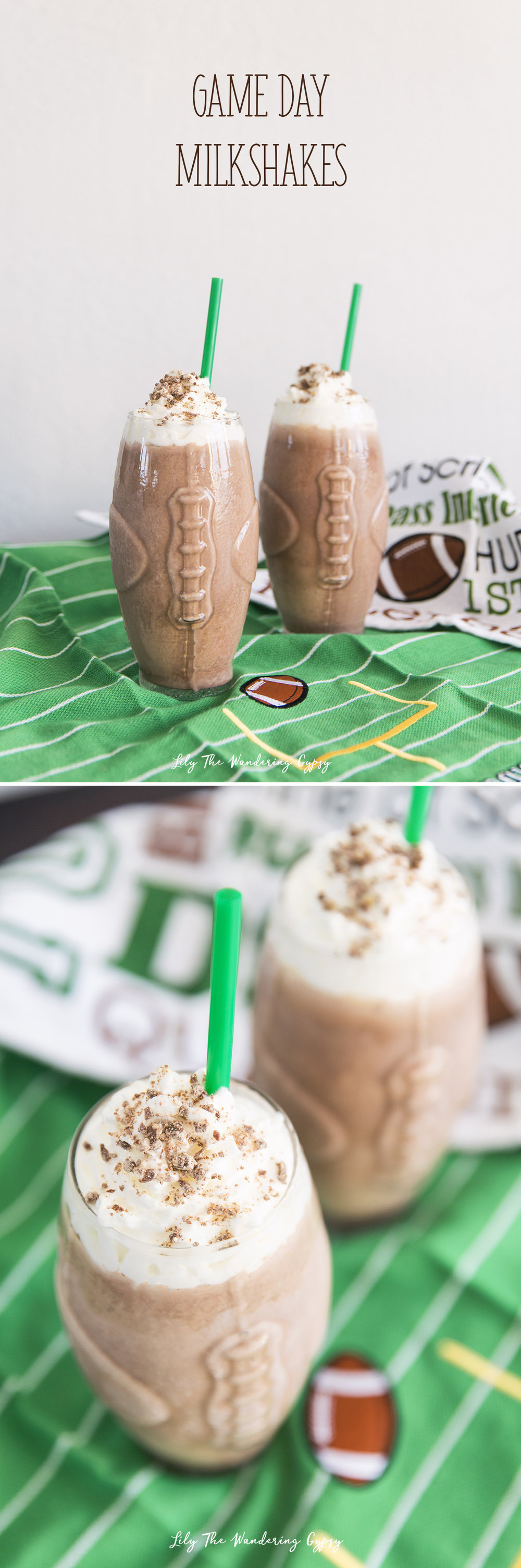 game day milkshakes recipe