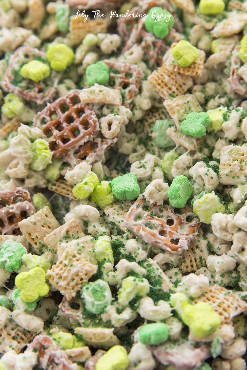 St. Patrick's Day Snack Mix Recipe