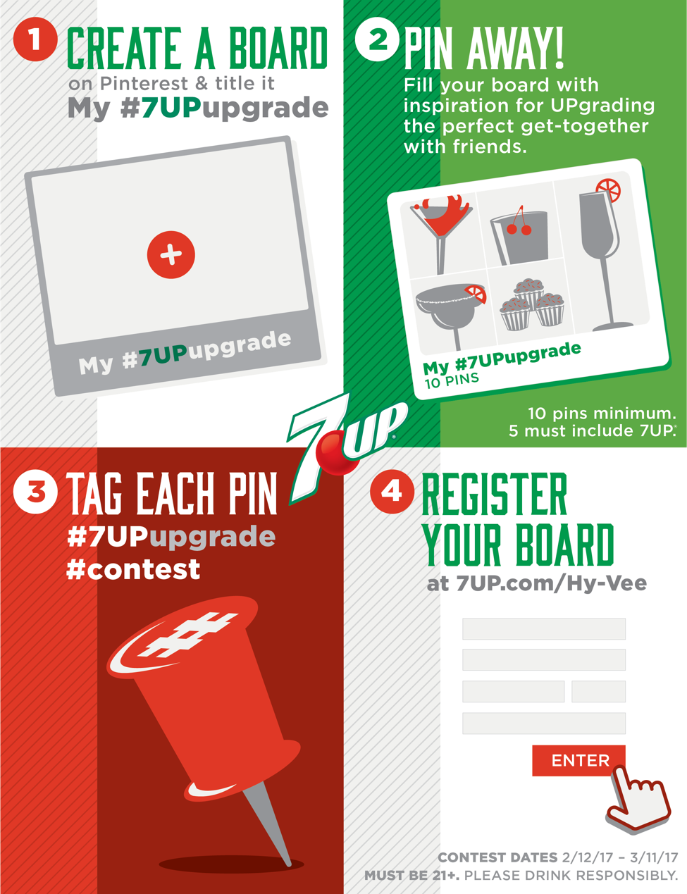 7UP Pinterest Contest!