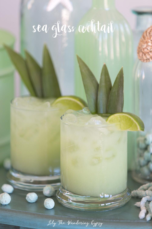 Sea Glass Cocktail Recipe
