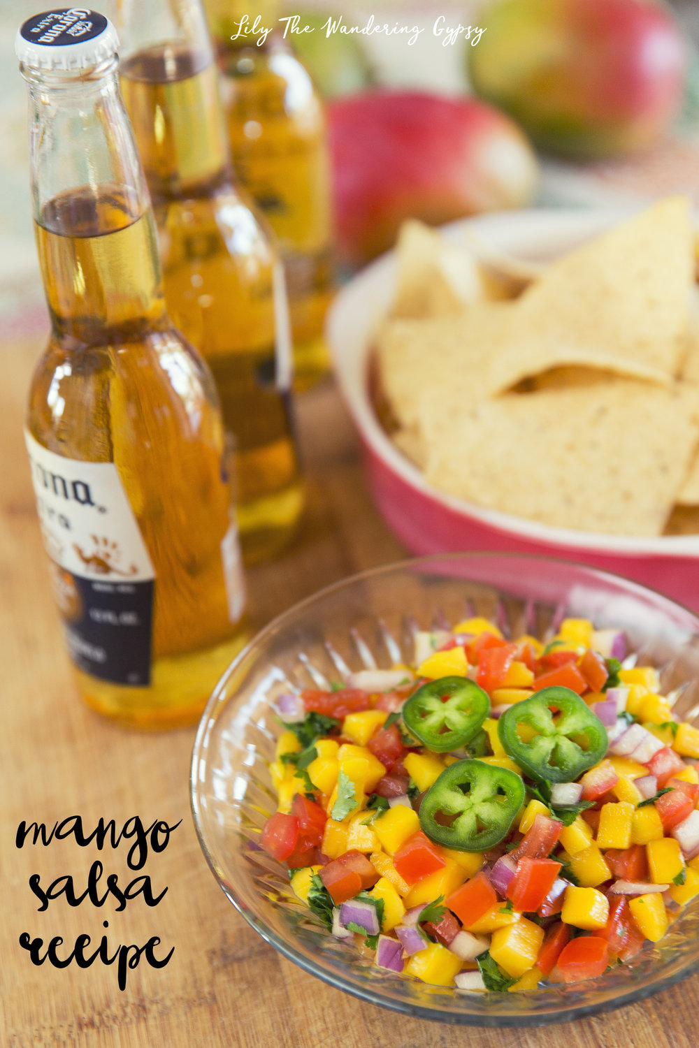 Mango Salsa Recipe by Lily The Wandering Gypsy