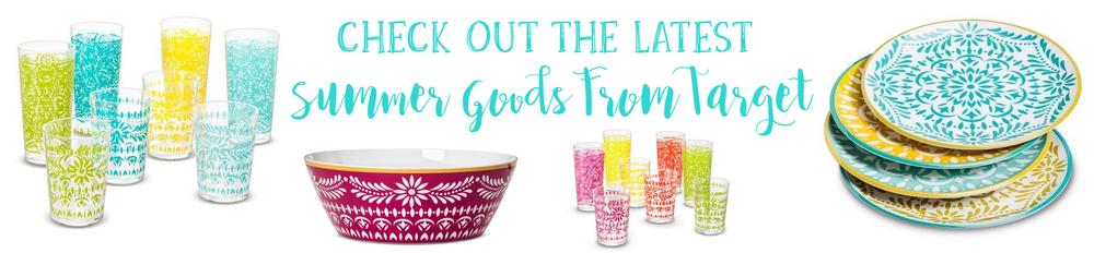 Check out the newest summer goods at Target