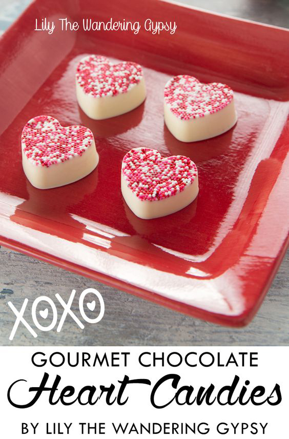 Gourmet Candy Hearts At Home