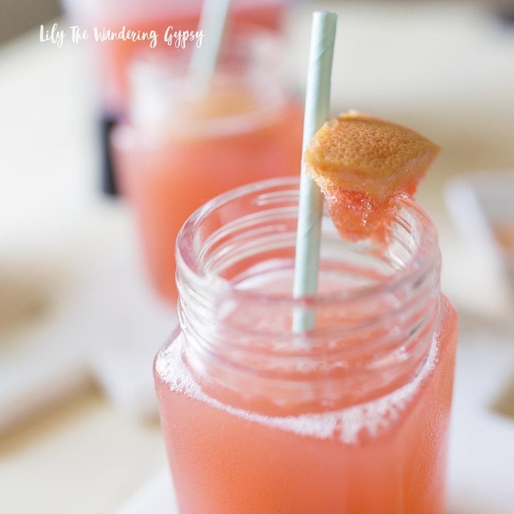 Grapefruit Ginger Sake Recipe