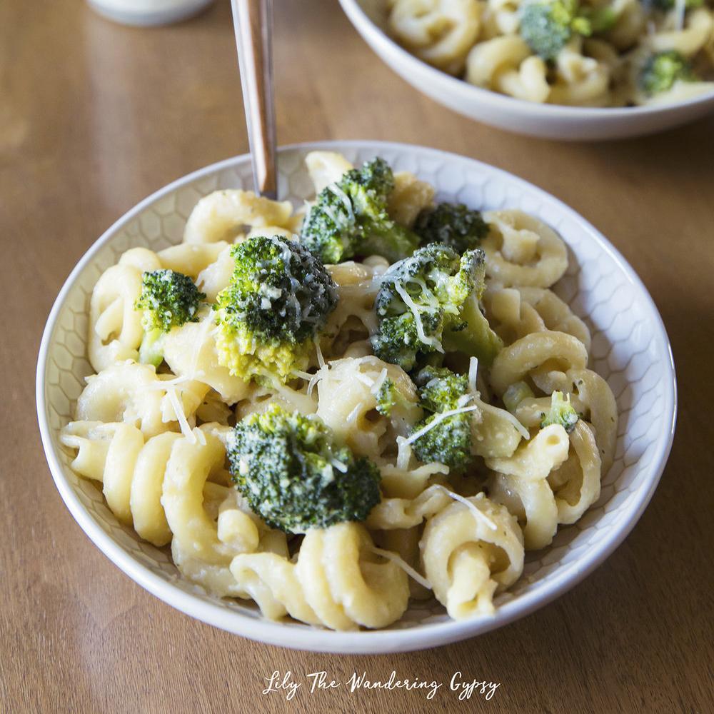 Parmesan Broccoli Pasta