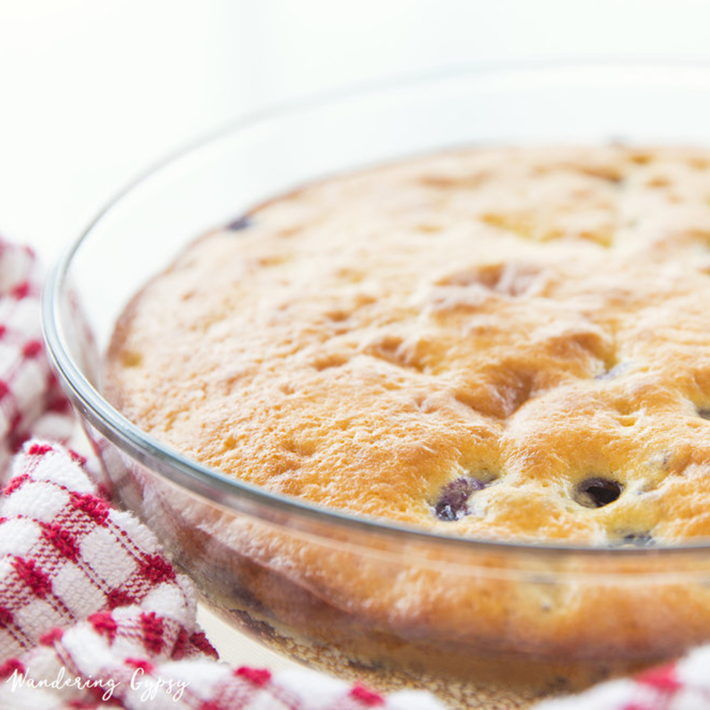 Blueberry and Yogurt Bread Recipe