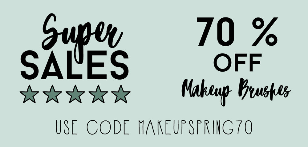 Sales On Makeup Brushes!