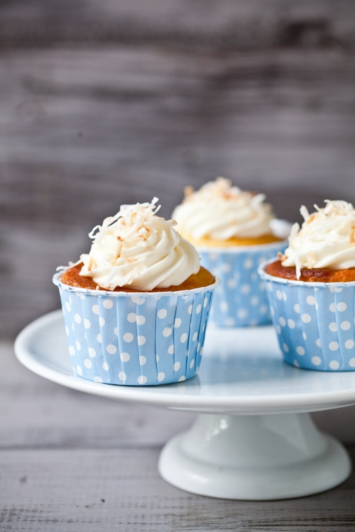 Honeysuckle and Jasmine Cupcakes