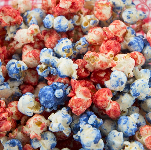 Patriotic Pop Corn - Get The Recipe