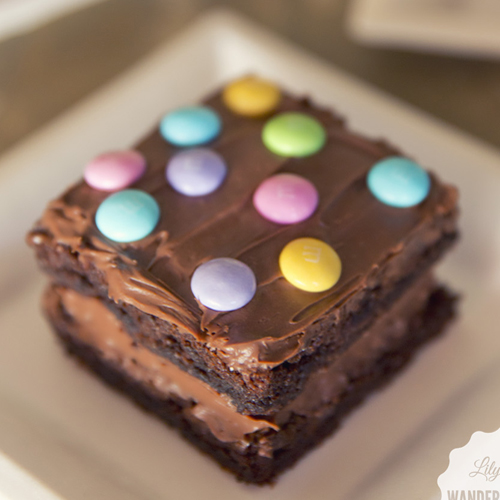 Double Decker Brownies - Get The Recipe