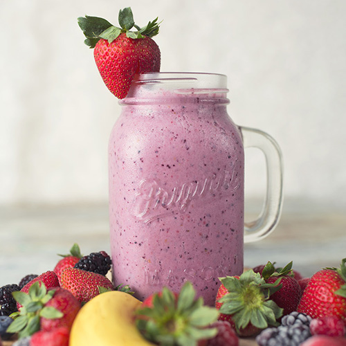 Organic Smoothie - Get The Recipe