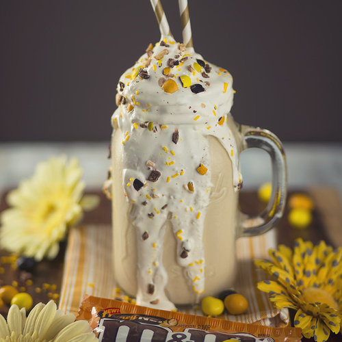 Honey Nut M&M's Milkshake