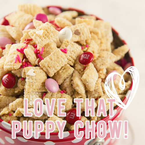 Peanut Butter Puppy Chow - Get The Recipe