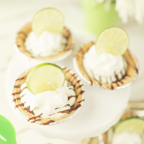 Key Lime Mini Pies - Get The Recipe