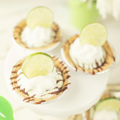 Key Lime Mini Pies - Get The Recipe