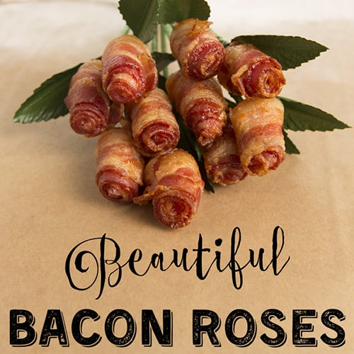 Bouquet Of Bacon Roses - Get The Recipe