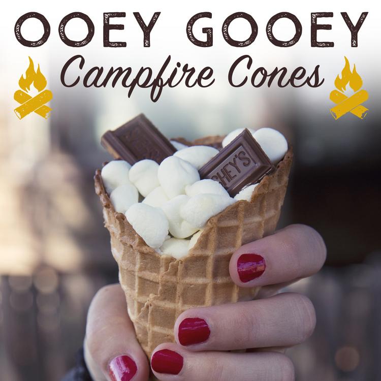 Ooey Gooey Campfire Cones - Get The Recipe