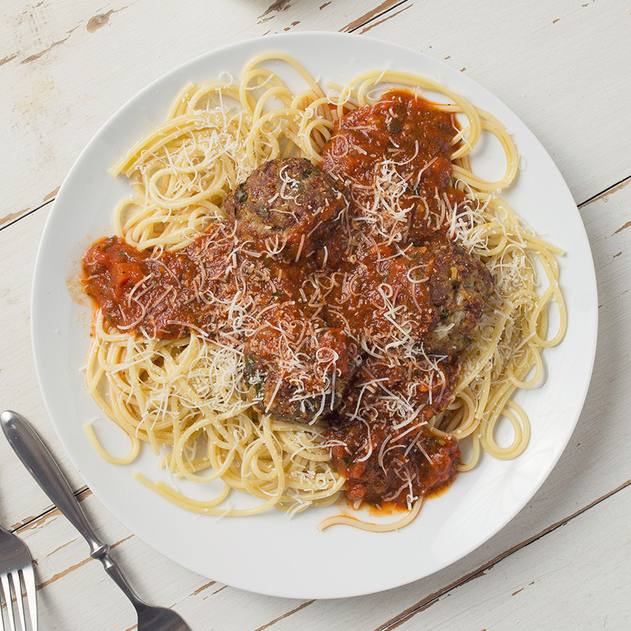Homemade Meatballs - Get The Recipe
