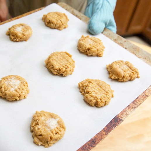 Coconut Oil Peanut Butter Cookies - Get The Recipe