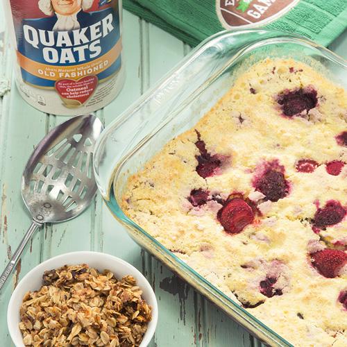 3 Ingredient Berry Cake - Get The Recipe