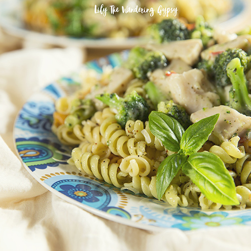 Creamy Basil Chicken Pasta - Get The Recipe