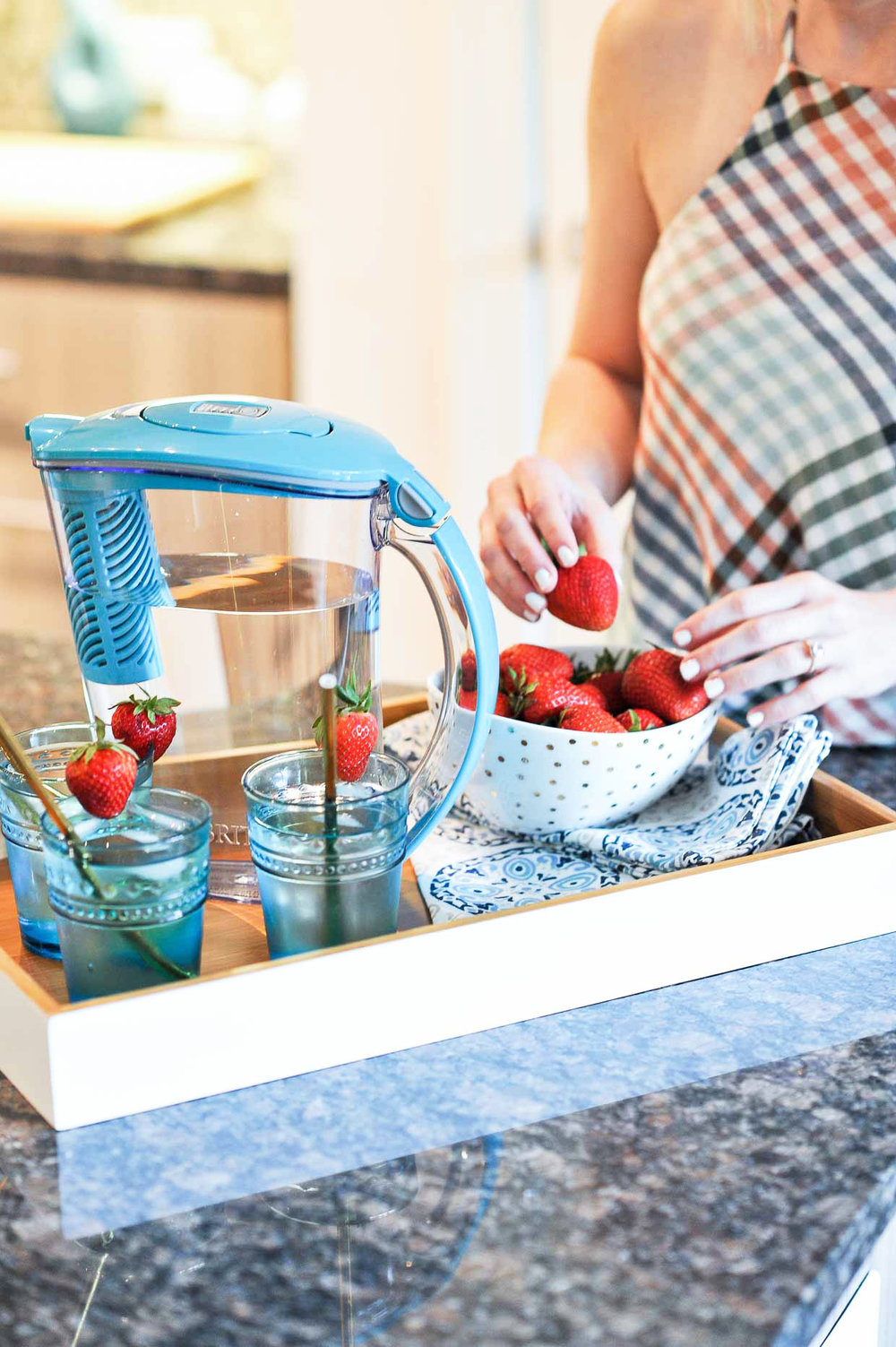 Brita Water Pitcher by Poor Little It Girl