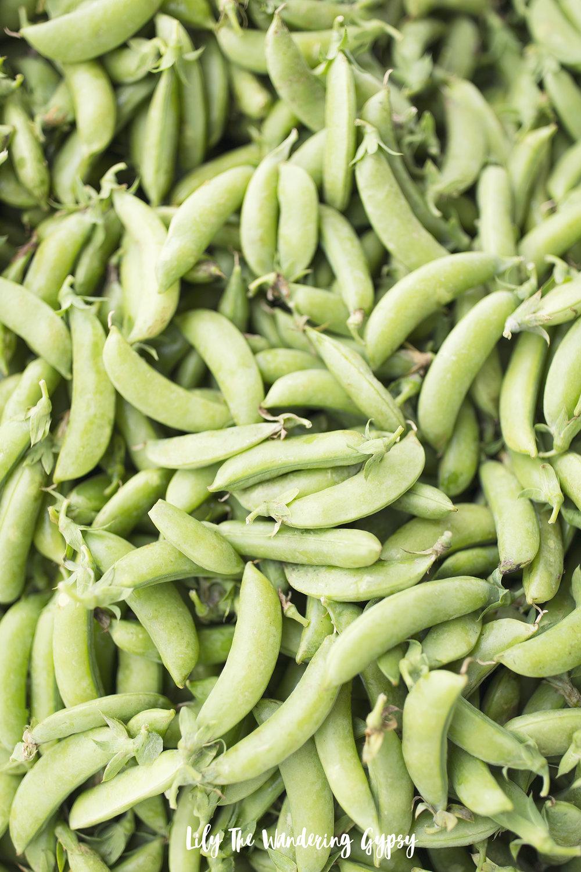 Garden Peas or Snap Peas