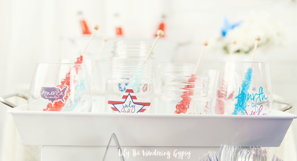 Cute Glasses (so easy to decorate!)