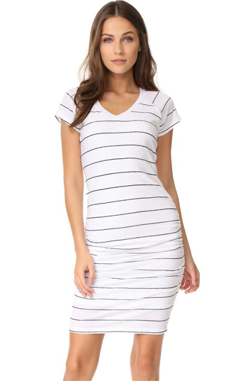 Striped Tshirt Dress