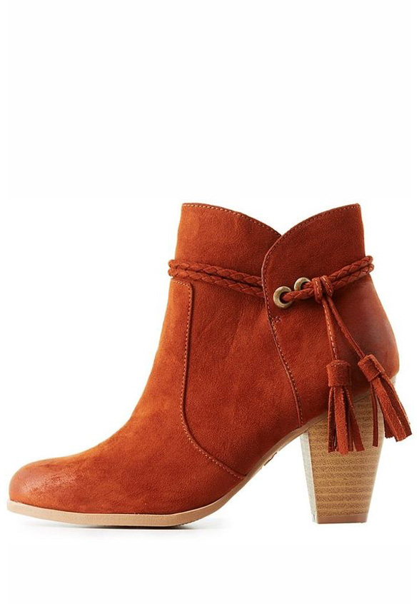 Fringe Tassel Ankle Boots