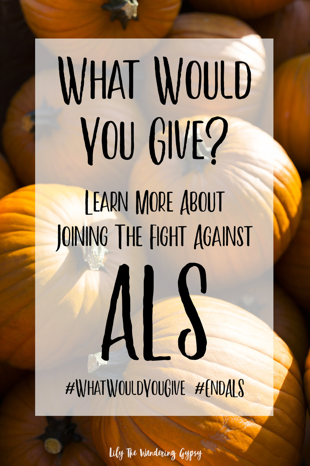 Pin this image to spread the word about joining the fight to cure ALS.