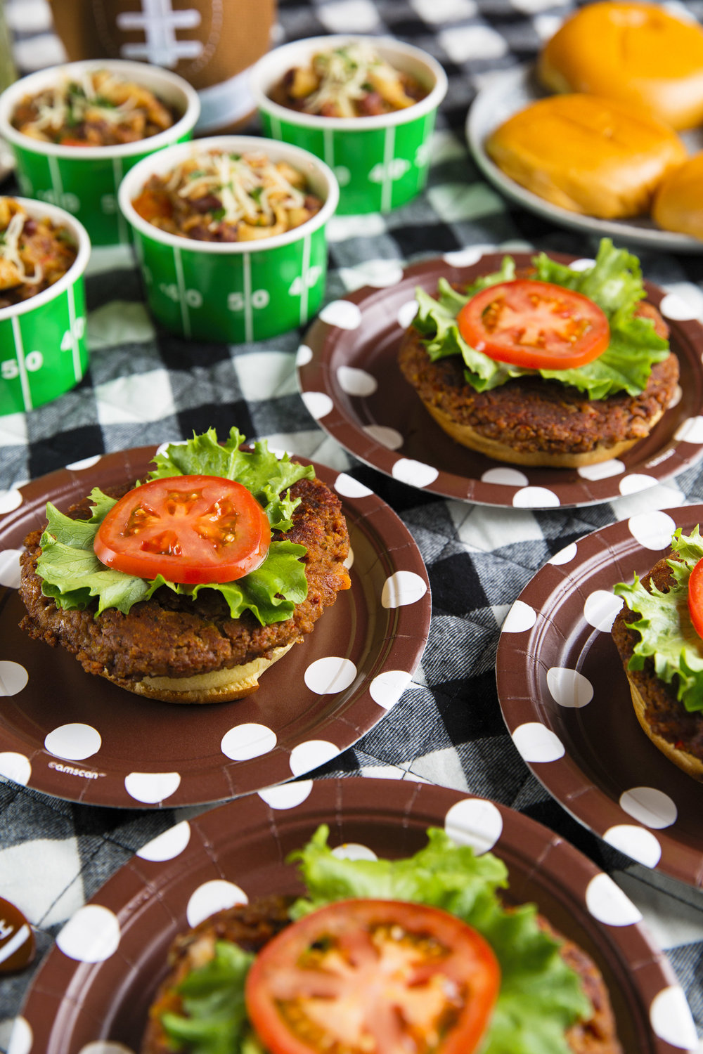 "Vegetarian Bean ""Burgers"" Recipe"