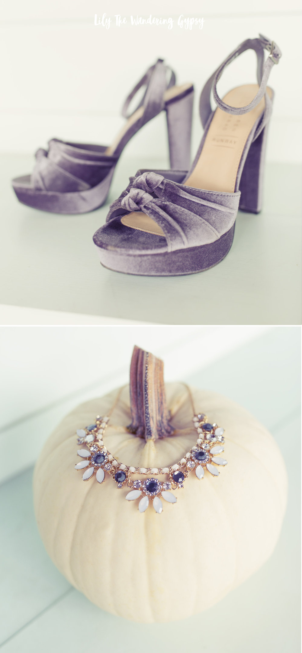Chic, Elegant, Adorable Heels + Necklace - LOVE these so much!!