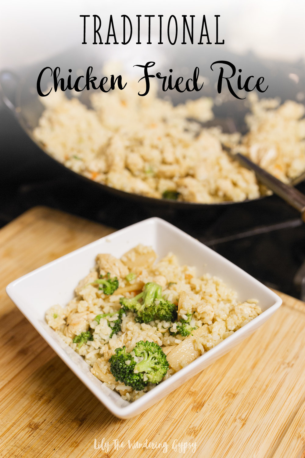 Traditional Chicken Fried Rice Recipe