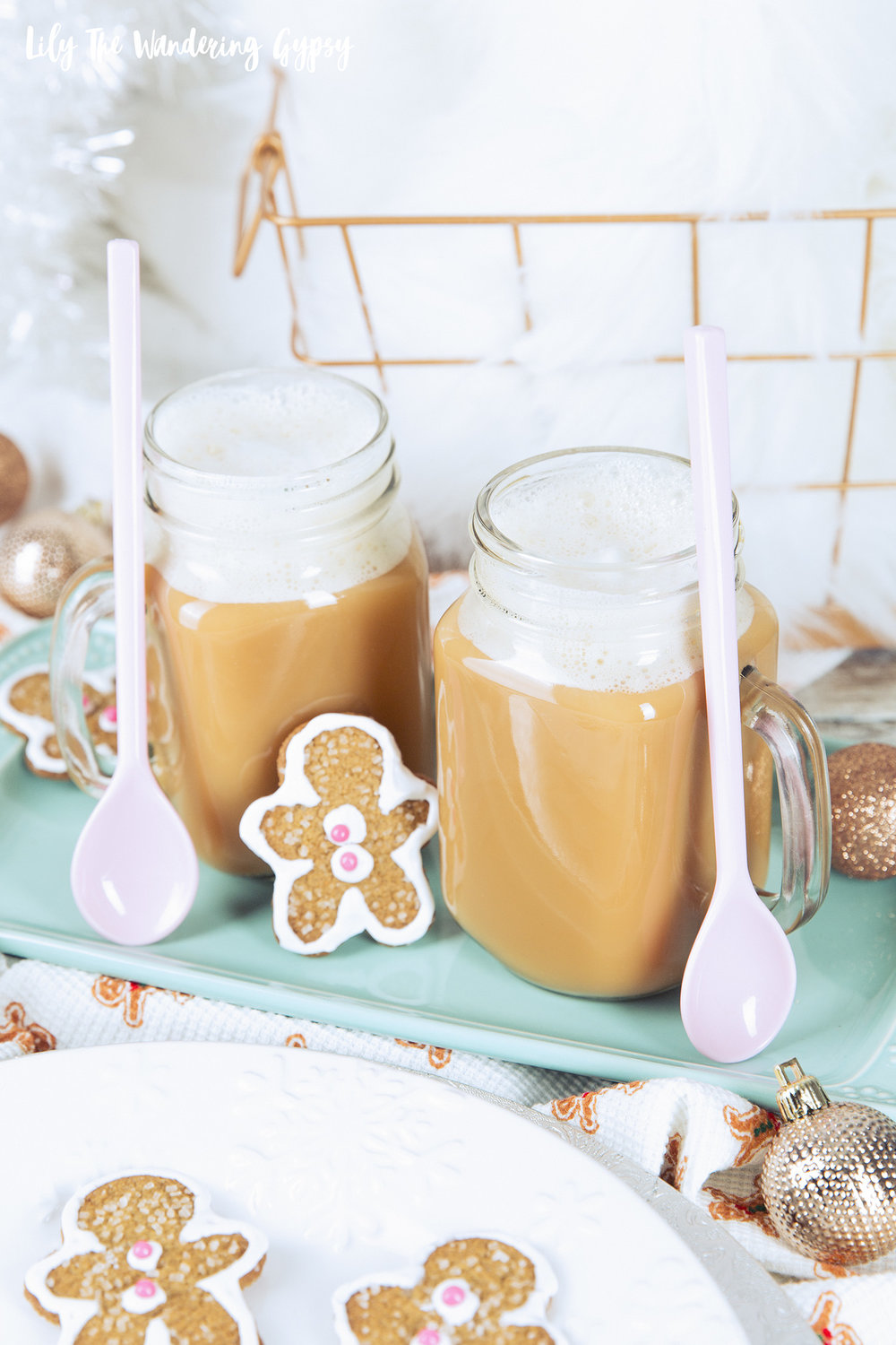 Chai Tea Gingerbread Spiced Latte Recipe