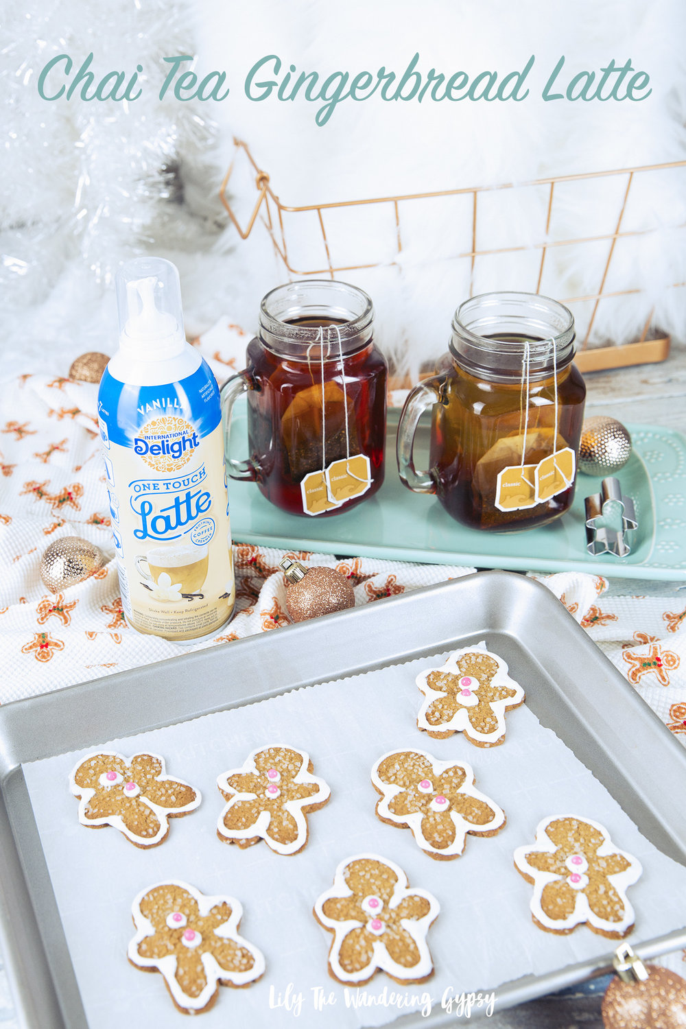 Chai Tea Gingerbread Latte Recipe