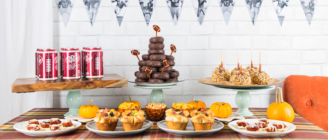 Vintage-Inspired Football Party Ideas + 2 Recipes