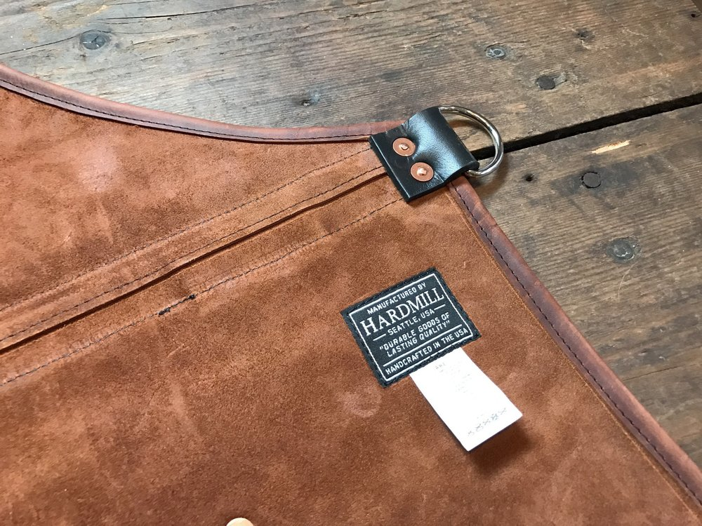 Hardmill Leather Apron