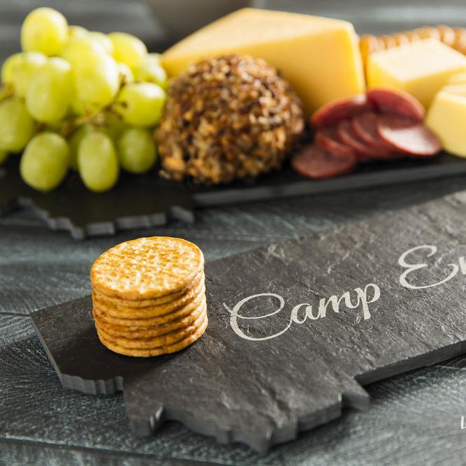 Cheese Tray - Custom State Cutout Boards - Handmade