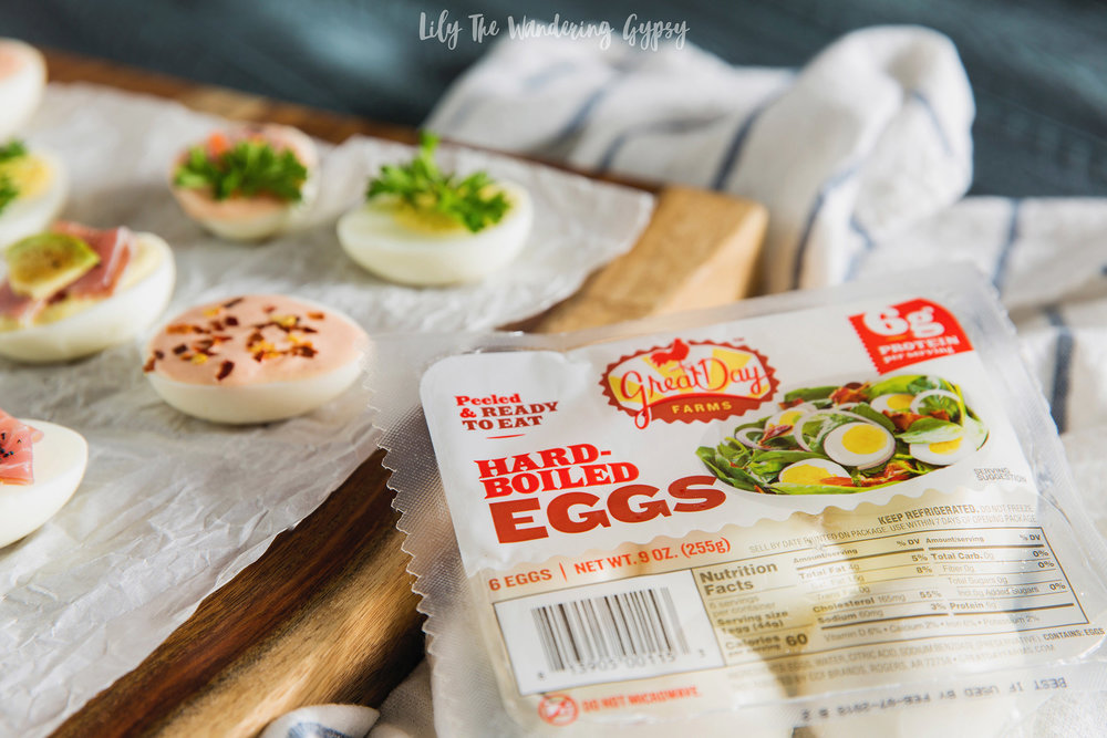 Unique Ways To Update Hard Boiled Eggs #EggceptionallyGreat