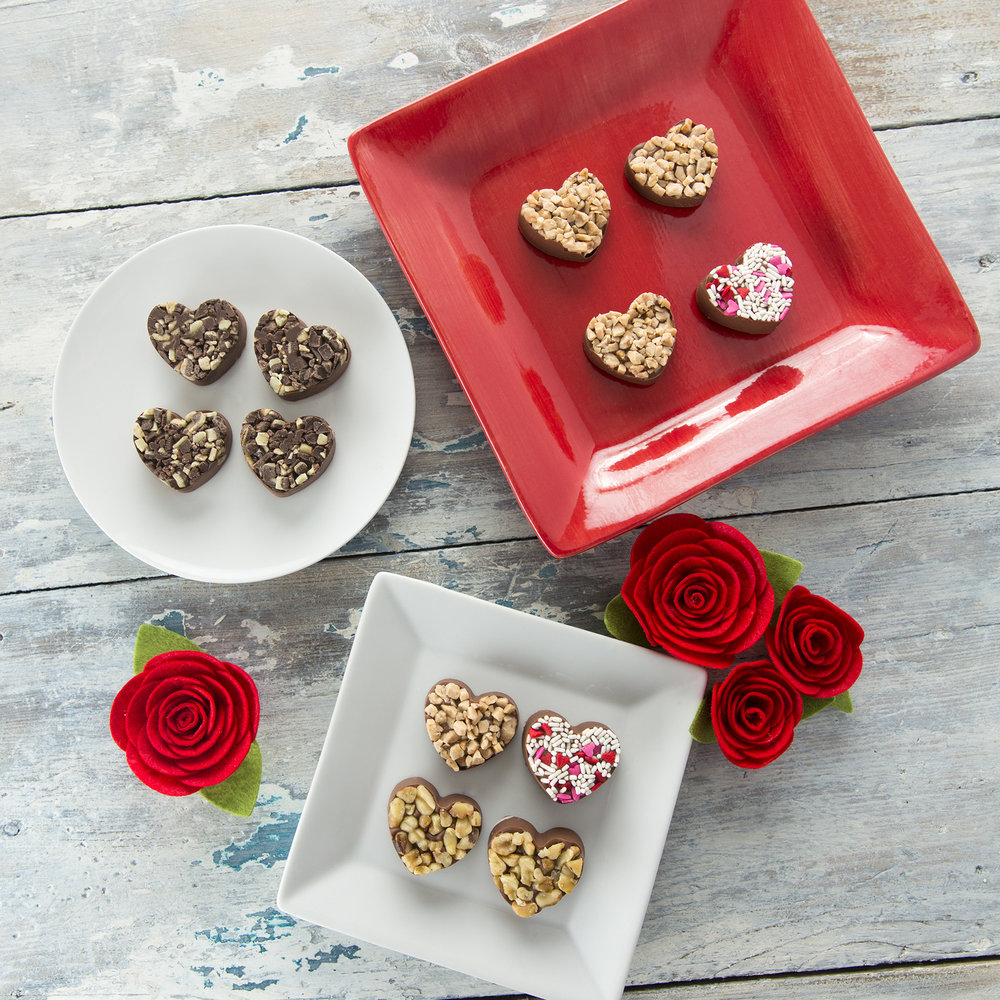 Gourmet Candy Hearts - Made At Home - Makes A Great Gift! Feb 7, 2015